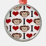Monos retros del amor de I Ornato
