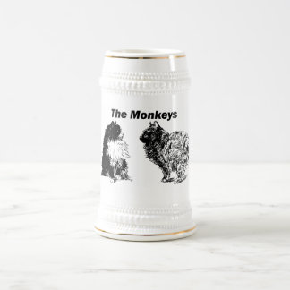 Monos Stein Jarra De Cerveza