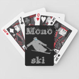 Monoski cards