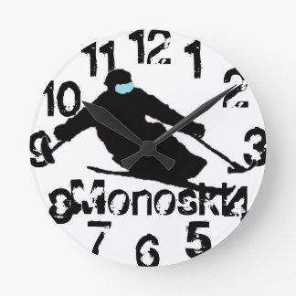 Monoski Clock