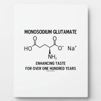 Monosodium Glutamate Enhancing Taste For Over 100 Plaque