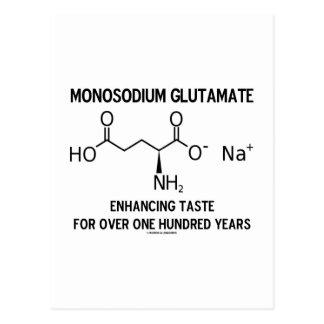 Monosodium Glutamate Enhancing Taste For Over 100 Post Cards
