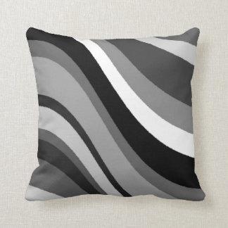 Monotone Dream Throw Pillow