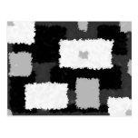 Monotone in Grey, Black & White Postcard