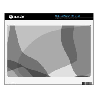 Monotone Soft Decal For Netbook