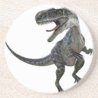 Monotophosaurus que parece derecho posavasos para bebidas