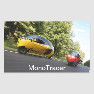 MonoTracer Sticker - Yellow & Red