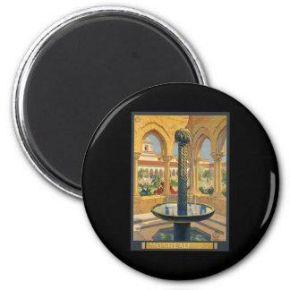 Monreale Palermo 2 Inch Round Magnet