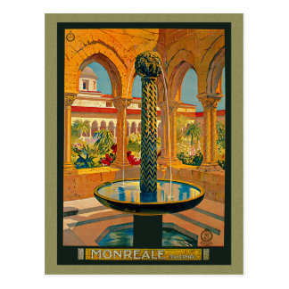 Monreale Palermo Italy Postcard