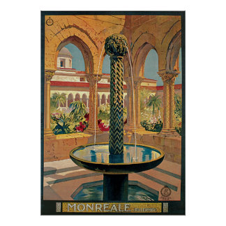 Monreale Palermo Italy Poster