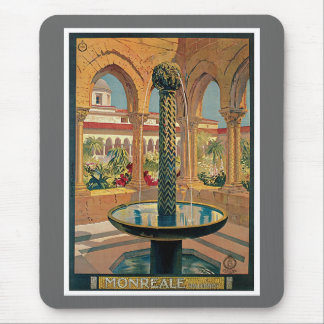 Monreale Palermo Italy Vintage Mouse Pad