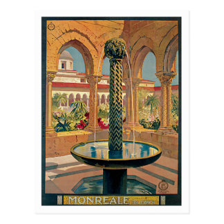 Monreale Palermo Italy Vintage Postcard