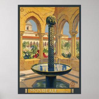 Monreale Palermo Poster