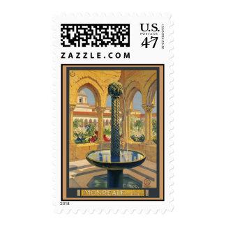 Monreale Palermo Stamp