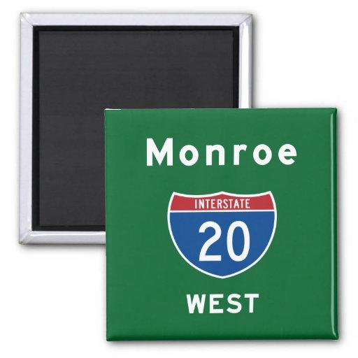 Monroe 20 2 inch square magnet
