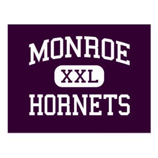 Monroe - avispones - High School secundaria - Postal
