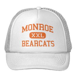 Monroe - Bearcats - High - Monroe Washington Trucker Hat