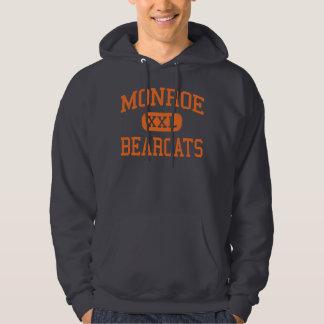 Monroe - Bearcats - High - Monroe Washington Hooded Sweatshirt