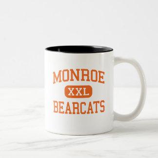 Monroe - Bearcats - High - Monroe Washington Two-Tone Coffee Mug