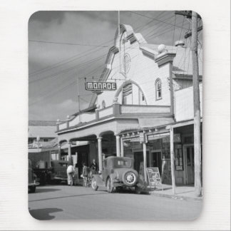 Monroe Cafe, Key West, 1930s Mouse Pad