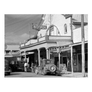 Monroe Cafe, Key West, 1930s Postcards