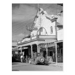 Monroe Cafe, Key West, 1930s Postcard