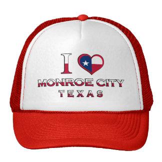 Monroe City, Texas Trucker Hat