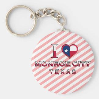 Monroe City, Texas Keychain