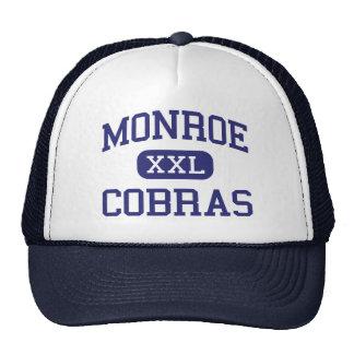 Monroe - Cobras - Senior - Lower Peach Tree Trucker Hat