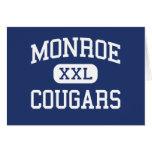 Monroe - Cougars - Junior - Monroe Washington Card