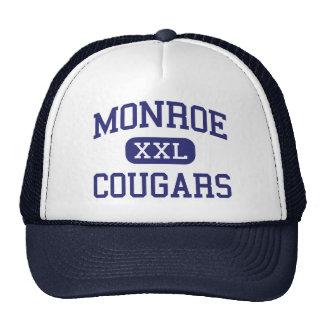 Monroe - Cougars - Junior - Monroe Washington Trucker Hat