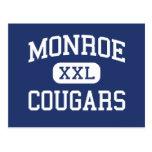 Monroe - Cougars - Junior - Monroe Washington Postcards
