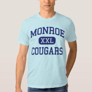 Monroe - Cougars - Junior - Monroe Washington Shirt