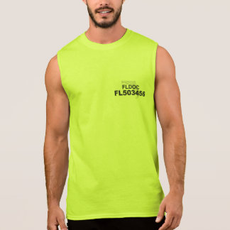 Monroe County DOC Sleeveless Shirt