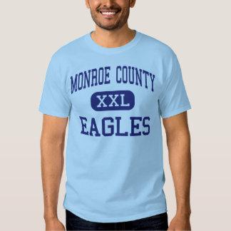 Monroe County Eagles Middle Forsyth Georgia Tee Shirt