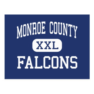 Monroe County Falcons Middle Tompkinsville Postcard