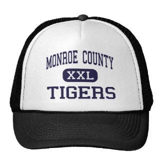 Monroe County - Tigers - High - Monroeville Trucker Hat