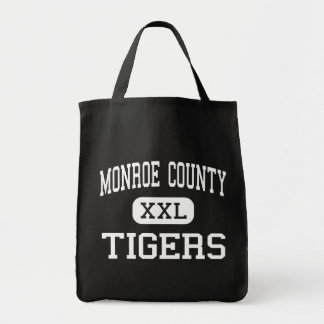 Monroe County - Tigers - High - Monroeville Tote Bag