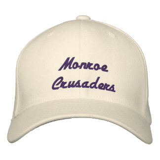 Monroe Crusaders Embroidered Hat