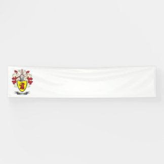 Monroe Family Crest Coat of Arms Banner