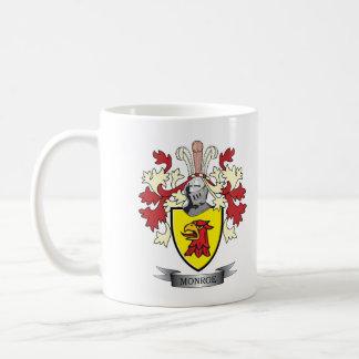Monroe Family Crest Coat of Arms Coffee Mug