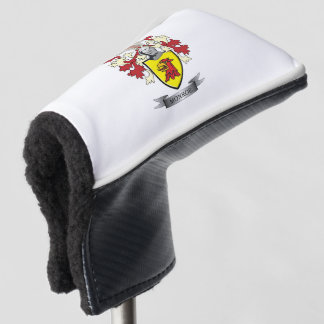 Monroe Family Crest Coat of Arms Golf Head Cover