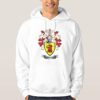 Monroe Family Crest Coat of Arms Hoodie
