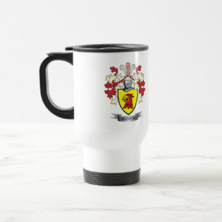 Monroe Family Crest Coat of Arms Travel Mug