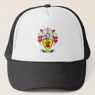 Monroe Family Crest Coat of Arms Trucker Hat