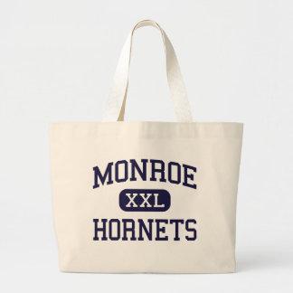 Monroe - Hornets - High School - Monroe Ohio Canvas Bags