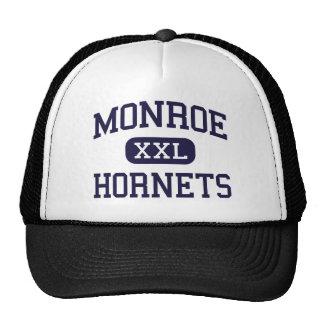 Monroe - Hornets - High School - Monroe Ohio Trucker Hat
