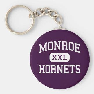 Monroe - Hornets - High School - Monroe Ohio Keychains