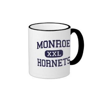 Monroe - Hornets - High School - Monroe Ohio Ringer Coffee Mug