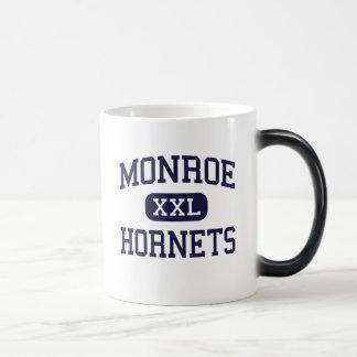 Monroe - Hornets - High School - Monroe Ohio 11 Oz Magic Heat Color-Changing Coffee Mug